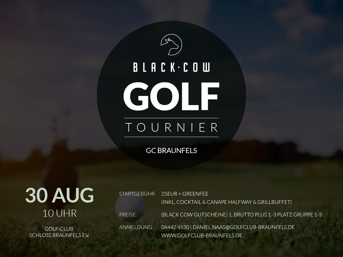 Black Cow Golf Turnier